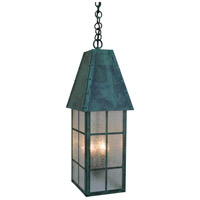 Arroyo Craftsman HAH-8CLR-MB Hampton 2 Light 8 inch Mission Brown Pendant Ceiling Light