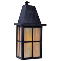 Arroyo Craftsman HW-6GW-BZ Hartford 1 Light 6 inch Bronze Wall Mount Wall Light in Gold White Iridescent