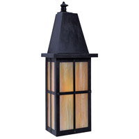 Arroyo Craftsman HW-8LGW-BZ Hartford 1 Light 8 inch Bronze Wall Mount Wall Light in Gold White Iridescent