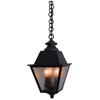 Arroyo Craftsman INH-8MRCLR-AB Inverness 3 Light 8 inch Antique Brass Pendant Ceiling Light in Clear