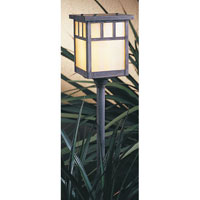 Arroyo Craftsman Huntington 1 Light Pathway Light in Mission Brown LV12-H4DTGW-MB
