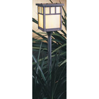 Arroyo Craftsman Huntington 1 Light Pathway Light in Mission Brown LV18-H4DTGW-MB