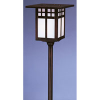 Arroyo Craftsman Glasgow 1 Light Pathway Light in Bronze LV24-G6WO-BZ