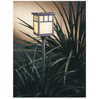 Arroyo Craftsman LV24-H4DTGW-MB Huntington 18 watt Mission Brown Landscape Light in Gold White Iridescent
