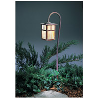 Arroyo Craftsman LV27-M6TGW-RC Mission 18 watt Raw Copper Landscape Light in Gold White Iridescent