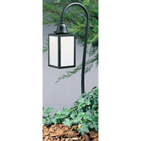 Arroyo Craftsman Pasadena 1 Light Pathway Light in Satin Black LV27-P6EWO-BK