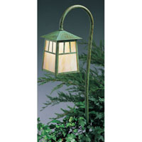 Arroyo Craftsman Raymond 1 Light Pathway Light in Verdigris Patina LV27-R6GW-VP