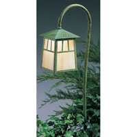 Arroyo Craftsman Raymond 1 Light Pathway Light in Verdigris Patina LV36-R6GW-VP