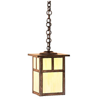 Arroyo Craftsman MH-7TTN-BZ Mission 1 Light 7 inch Bronze Pendant Ceiling Light in Tan