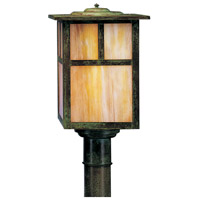 Arroyo Craftsman Verdigris Patina Post Lights