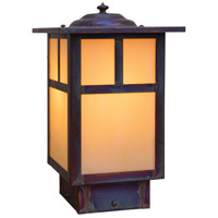 Arroyo Craftsman MPC-6TOF-RC Mission 60 watt Raw Copper Landscape Light in Off White T-Bar Overlay