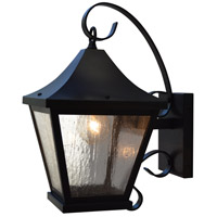 Arroyo Craftsman NAB-8CS-BZ Nantes 1 Light 16 inch Bronze Outdoor Wall Mount in Clear Seedy