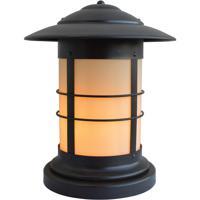 Arroyo Craftsman NC-14CR-BZ Newport 1 Light 17 inch Bronze Column Mount in Cream