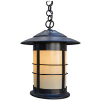 Arroyo Craftsman NH-14OF-BZ Newport 1 Light 14 inch Bronze Pendant Ceiling Light in Off White