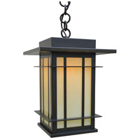 Arroyo Craftsman OPH-11OF-BZ Oak Park 1 Light 11 inch Bronze Pendant Ceiling Light in Off White