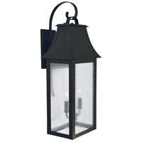 Arroyo Craftsman ORB-10RM-BZ Orpington 2 Light 25 inch Bronze Outdoor Wall Mount in Rain Mist