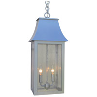 Arroyo Craftsman ORH-10CS-P Orpington 2 Light 10 inch Pewter Pendant Ceiling Light in Clear Seedy
