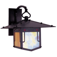 Arroyo Craftsman PDB-12GRC-BZ Pagoda 1 Light 12 inch Bronze Wall Mount Wall Light