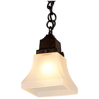 Arroyo Craftsman RH-1-RC Ruskin 1 Light 5 inch Raw Copper Pendant Ceiling Light, Glass Sold Separately thumb