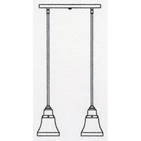 Arroyo Craftsman RICH-2-BZ Ruskin 2 Light 15 inch Bronze Pendant Ceiling Light RICH-2_line.jpg thumb