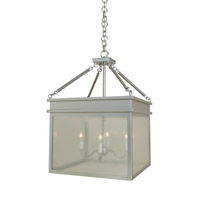 Arroyo Craftsman ROH-19CS-P Rochester 4 Light 19 inch Pewter Pendant Ceiling Light in Clear Seedy