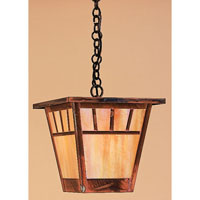 Savannah 1 Light 11 inch Raw Copper Pendant Ceiling Light in Gold White Iridescent