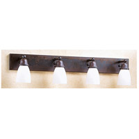 Arroyo Craftsman Simplicity 4 Light Wall Mount in Bronze SLB-4-BZ