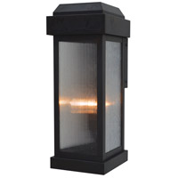 Sydney 2 Light 18 inch Bronze Outdoor Wall Lantern