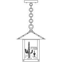 Arroyo Craftsman TRH-12CTRM-AB Timber Ridge 1 Light 12 inch Antique Brass Pendant Ceiling Light in Rain Mist