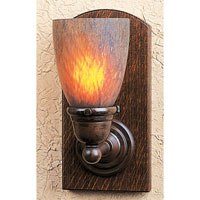 Thorsen 1 Light 5 inch Bronze Wall Mount Wall Light