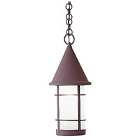 Arroyo Craftsman VH-7RM-BZ Valencia 1 Light 7 inch Bronze Pendant Ceiling Light in Rain Mist thumb