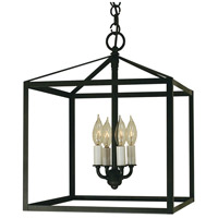 Arroyo Craftsman VIH-14-BZ Vintage 4 Light 14 inch Bronze Pendant Ceiling Light