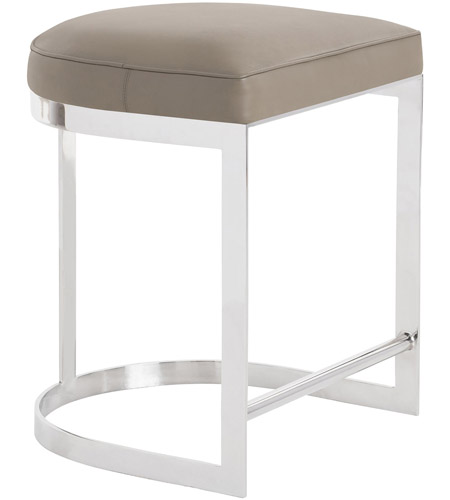 Superb Arteriors 2858 Howell 24 Inch Polished Nickel Counter Stool Caraccident5 Cool Chair Designs And Ideas Caraccident5Info