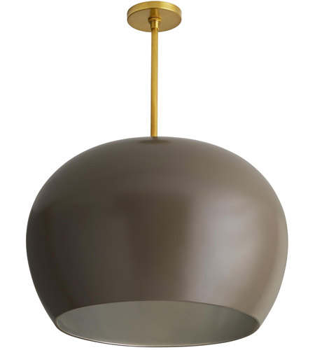 Arteriors 45051 Patton 1 Light 22 Inch Taupe And Antique Brass