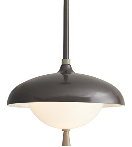 Arteriors 49219 Stanwick 1 Light 13 inch Aged Iron with Nickel Accents Outdoor Pendant alternative photo thumbnail