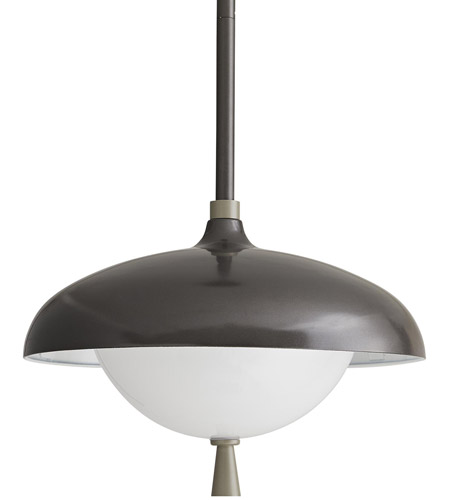 Arteriors 49219 Stanwick 1 Light 13 inch Aged Iron with Nickel Accents Outdoor Pendant photo thumbnail
