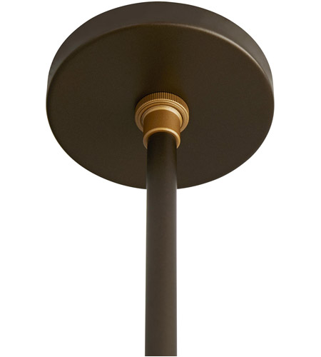 Arteriors 49220 Stanwick 1 Light 13 inch Aged Brass with Antique Brass Accents Outdoor Pendant alternative photo thumbnail