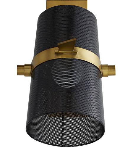 Arteriors 49270 Yasmin 1 Light 7 Inch Antique Brass Sconce