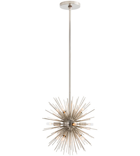 Polished Nickel Zanadoo Chandeliers