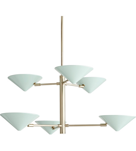 Arteriors Pale Brass Steel Chandeliers