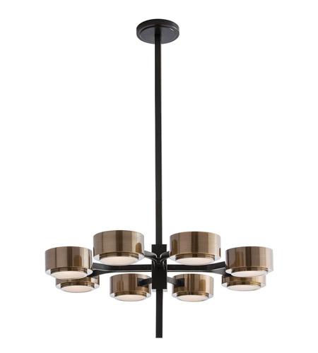 Arteriors 89974 Jalen 8 Light 30 Inch Bronze Chandelier Ceiling