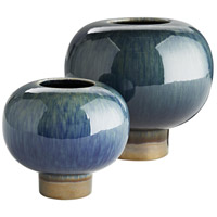 Arteriors 1040 Tuttle 8 X 7 inch Vases, Set of 2