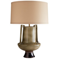 Murdock 32 inch 150 watt Lichen with Coffee Metallic Glaze Table Lamp Portable Light