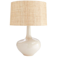 Nash 28 inch 150 watt Warm Sand Reactive Glaze Table Lamp Portable Light