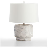 Cainan 23 inch Desert Ivory Ceramic Table Lamp Portable Light