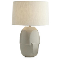 Heath 29 inch 150 watt Oyster Gray and Nickel Table Lamp Portable Light