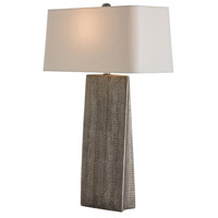 Ravi 31 inch 150 watt Metallic Python Table Lamp Portable Light