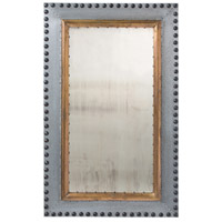 Arteriors 2051 Hartley 45 X 28 inch Zinc/Antique Brass/Bronze Wall Mirror, Large