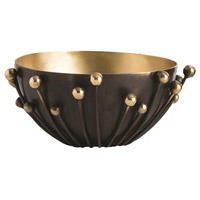 Arteriors 2053 Parsons Bronze and Polished Brass and Matte Brass Container
