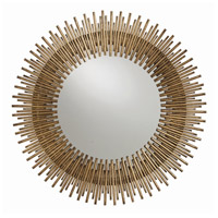 Arteriors 2134 Prescott Antiqued Gold Leaf Wall Mirror